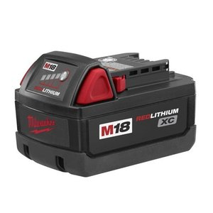Milwaukee 48-11-1828 Lithium Battery, 18V, M18, XC High Capacity