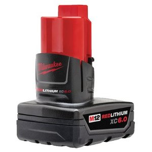 Milwaukee 48-11-2460 M12 XC Extended 6.0 Battery Pack