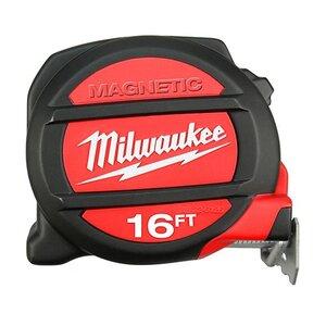 Milwaukee 48-22-5116 Magnetic Tape Measure, 16'