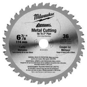 "Milwaukee 48-40-4016 6-7/8"" Circular Saw Blade"