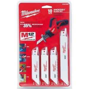 Milwaukee 49-22-0220 10-Piece Reciprocating Saw Blade Kit