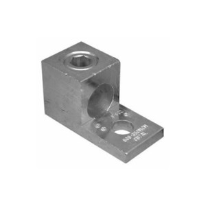 Morris Products 90720 Compression Lug, 1-Hole, Aluminum, 6 AWG - 250 MCM