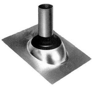 "Morris Products G12202 2 "" Roof Flashing, Neoprene Collar"