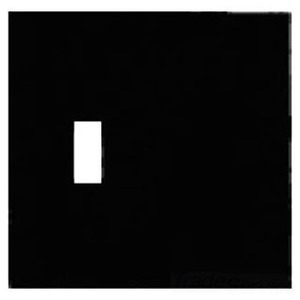Mulberry Metal 97522 Wallplate, 2-Gang, Blank/Toggle, Stainless Steel 430