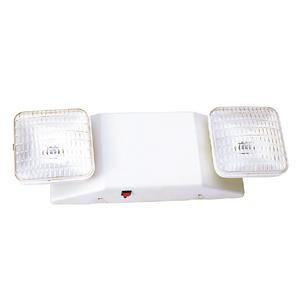 Mule SQ80 Emergency Light, Incandescent, 2-Head, 5.4W, 6V, White