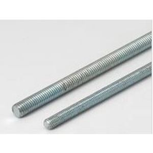 "Multiple 025X120PR All Threaded Rod, Plain, 1/4"" x 10'"