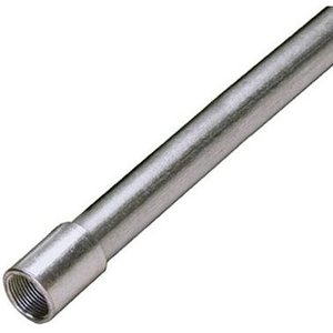 "Multiple 125 Rigid Conduit, 1-1/4"", Galvanized Steel, 10'"