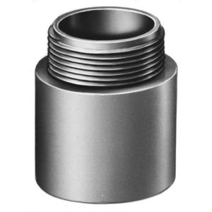 "Multiple 250MA 2-1/2"" PVC Male Terminal Adapter."