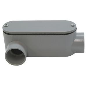 """Multiple 300LR 3"""" LR PVC Conduit Fitting"""