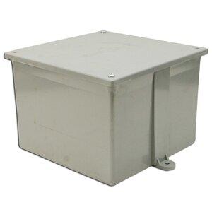 Multiple 6X6X6-JCT-BOX-W/CVR Type 4X, Screw Cover Enclosure