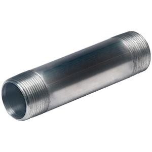 "Multiple ALC150X600 Nipple, 1-1/2"" x 6"", Threaded, Aluminum"