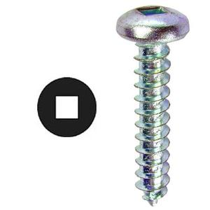 "Multiple DDSMS812 1/2"" Sheet Metal Screw"