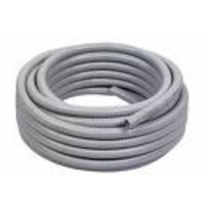 "Multiple EF250GRY50RL Liquidtight Flexible Steel Conduit, Type EF, 2-1/2"", Gray, 50'"