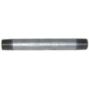 "Multiple GRC100X450 Rigid Nipple, Threaded, Steel, 1"" x 4-1/2"" Long"