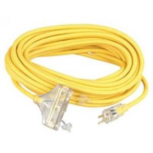 Multiple OUT143HD100FT Power Block Extension Cord, Outdoor, 14/3, 100'