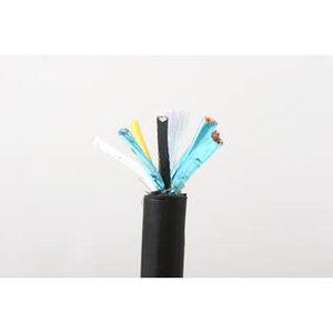 Multiple SDT123 Small Diameter Control Cable, 12/3, Copper, PVC Jacket, Black