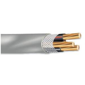Multiple SEU2221000RL Service Entrance Cable, SEU, CU, 2/2, 2 AWG Ground, Copper, 1000'