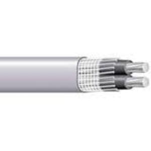 Multiple SEU222500RL Service Entrance Cable, SEU, Aluminum, 2-2, 500'