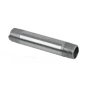 Multiple SS050X300-SCH80 Stainless Steel Rigid Nipple, Size: 1/2 x 3""