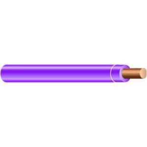 Multiple THHN12SOLPUR500RL 12 AWG THHN Solid Copper, Purple, 500'