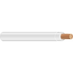 Multiple THHN4STRWHT5000RL 4 AWG THHN Stranded Copper, White, 5000'