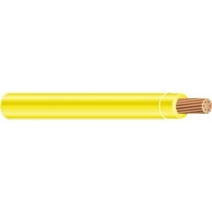 Multiple THHN4STRYEL5000RL 4 AWG THHN Stranded Copper, Yellow, 5000'