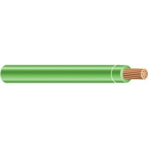 Multiple THW4/0STRGRN500RL 4/0 AWG THW Solid Copper, Green, 500'