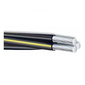Multiple VOLUTAXLP1000RL Voluta, Triplex Service Drop, 6-6-6 AWG, Aluminum, 1000', XLP Insulated
