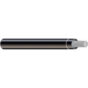 Multiple XHHW4STRBLK2500RL 4 AWG XHHW Stranded Aluminum, Black, 2500'