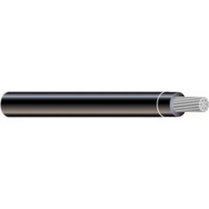 Multiple XHHW500STRBLK3000RL 500 MCM XHHW Stranded Aluminum, Black, 3000'
