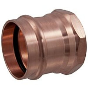 """NIBCO 9025550 Female Adapter, Type: C x F - WROT, Size: 1-1/4"""", Copper"""