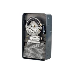 NSI Tork 1101B Mechanical Time Switch, 24-Hour, SPST, 40A, 120V