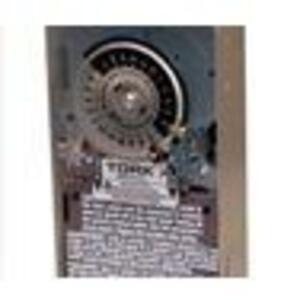 NSI Tork 7200Z Mechanical Timer, Astronomic, 24 Hour, DPST, 40A, 120V