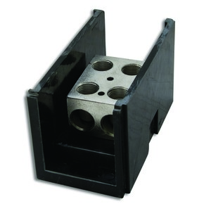 NSI Tork AL-P2-P2 Connector Block, 6 AWG - 350 MCM Line & Load, (2) Primary/(2) Secondary
