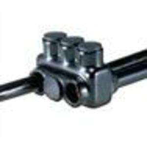 NSI Tork IPLD350-9 Insulated Multi-Tap Connector, 2-Sided, 9-Port, 6 AWG - 350 MCM