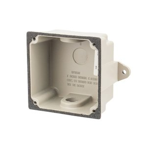 "NSI Tork TA-WBBF Weatherproof Outdoor Box, 1/2"" Hubs, Non-Metallic"