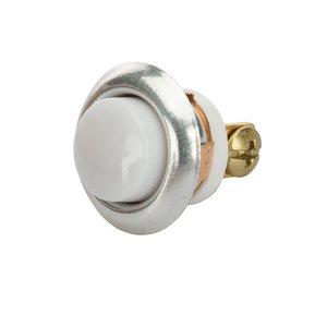 """NSI Tork TA620 Pushbutton, Signaling, 24VDC, 5/8"""" Diameter, Chrome Bezel"""