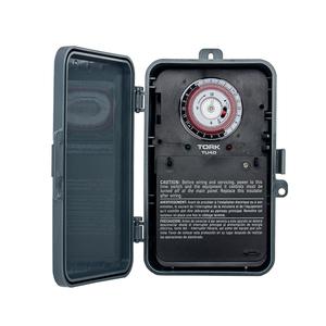 NSI Tork TU40 Mechanical Time Switch, 24-Hour, DPDT, 40A, 120-277V