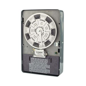 NSI Tork W402B 7 Day Time Switch 40A 208-277V 4PST Indoor Enclosure