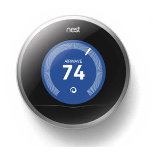 Nest T200477W LEARNING THERMOS 2ND GEN NEST LEARNING THERMOSTAT