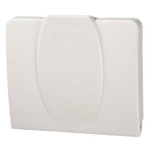"Nutone 360W Automatic On & Off  Inlet, 33-/4 x 3 x 5/8"", White"