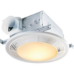 Nutone 8663RP Ceiling Fan/Light, Incandescent, 100 CFM