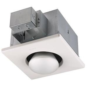 Nutone 9412D Heat Lamp, 250W Infrared Bulb, White