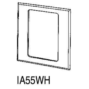 Nutone IA55WH Frame,nutone