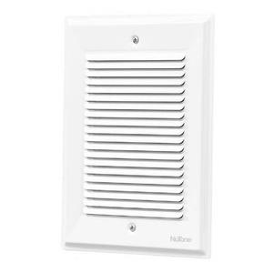 Nutone LA14WH Wired Chime, 2-Tone, 16VAC, Flush Mount, White