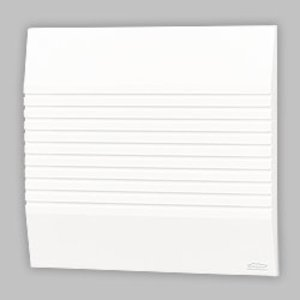 Nutone LA208WH White With Tapered Horizontal Styling