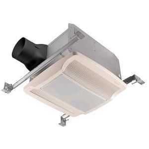 Nutone QTREN080FLT Ceiling Fan/Light, Energy Efficient, 80 CFM