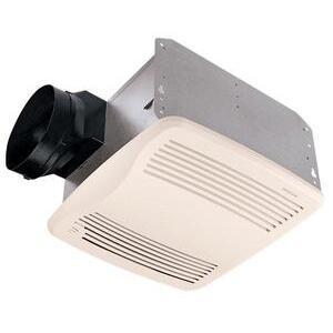 Nutone QTXEN110S Humidity Sensing Fan, Energy Efficient, 110 CFM