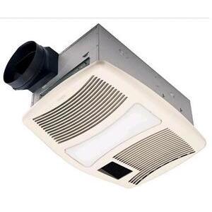 Nutone QTXN110HL Heater/Fan/Light, 1500W, 110 CFM