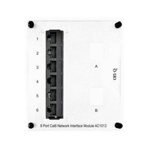 ON-Q AC1013 Interface Module, 6 Receptacles